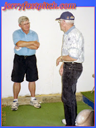 """Jerry and Ernie Parker Talking about what else... """"Pitching"""""""