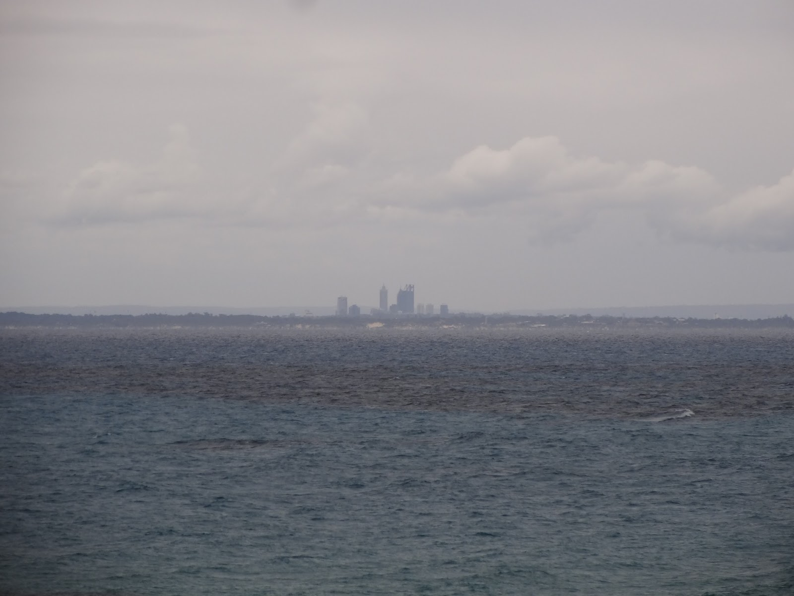 Perth in the distance