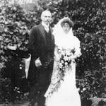 John Humfrey (1870-1952) and Jessie Rose Davis (1876-1952), married in Wokingham 1908, retired to Brookside, Upton