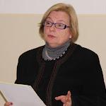 Dr. Várfalvi Marianna védőnő, szülésznő előadásában a család születéséről szólt