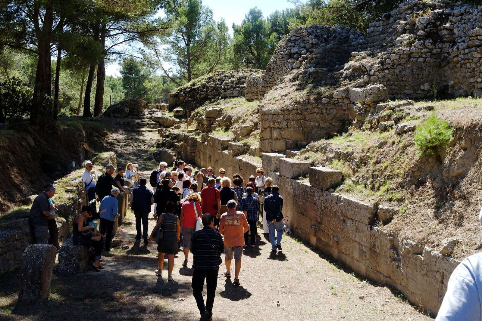 19-09 après midi Site archéologique de St Blaise