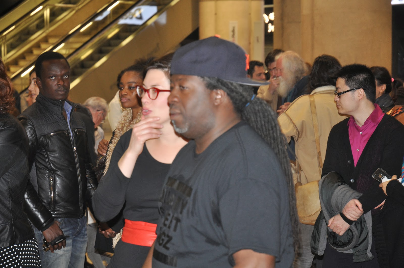 Quality Street Flashmob en langue des signes et hip hop - Crédit Xavier Cotte