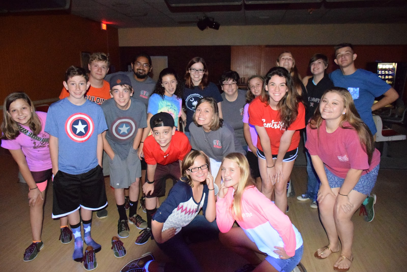 STAND Youth Group Lock-In 2015
