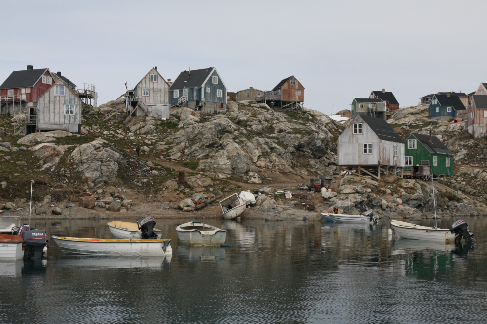 Tiniteqilaq village, ~150 inhabitants