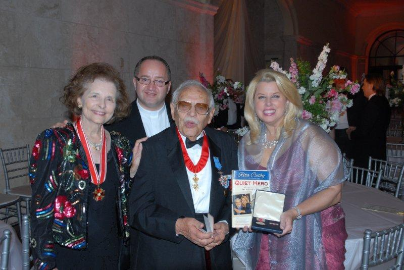Rose and Ed Kruszewski, Rita Cosby