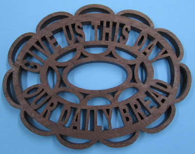 Give Us the Day Trivet  By Sylvia