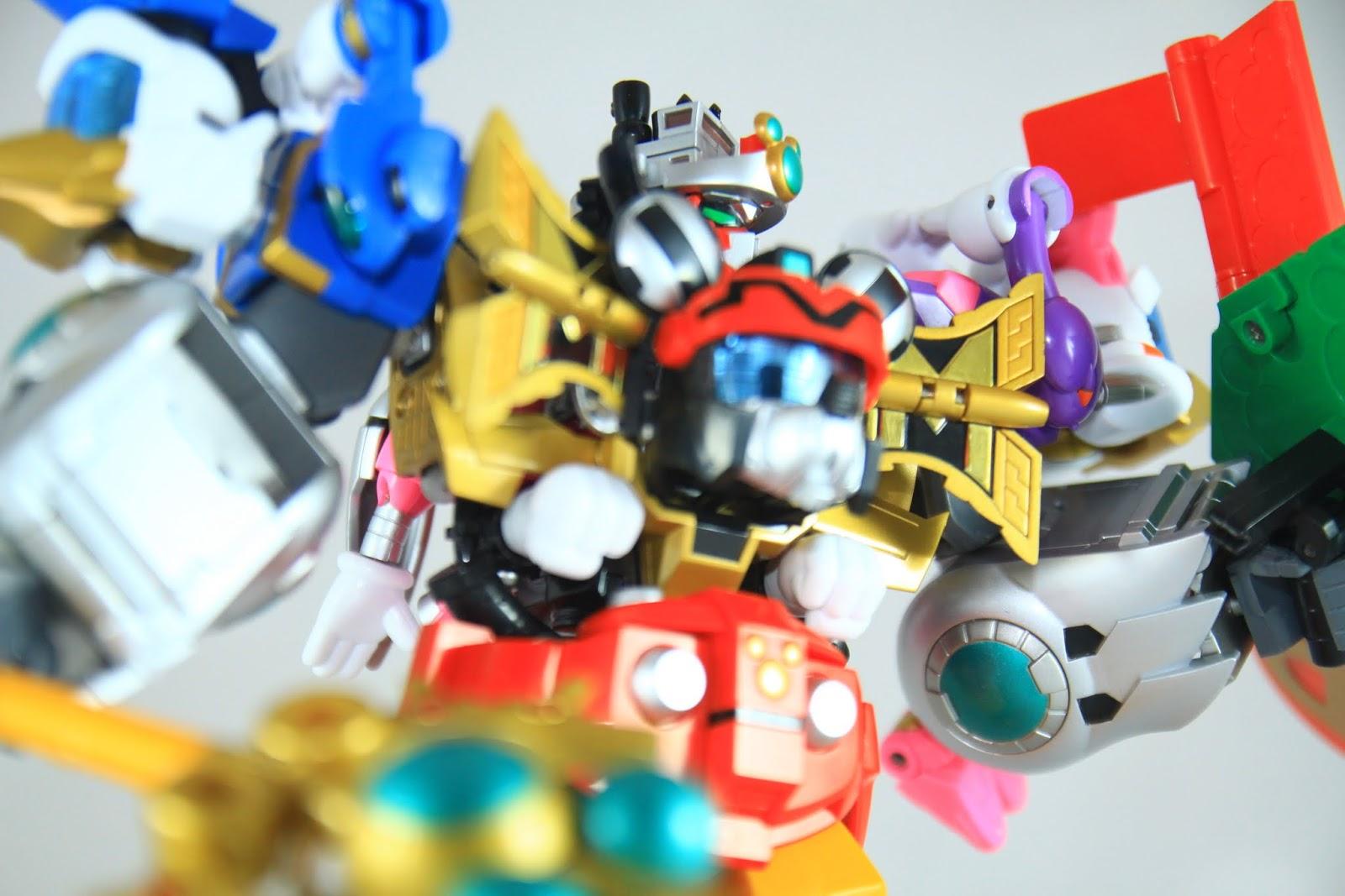 帥氣的King Robot