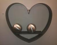 deco wandhanger hart