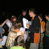 Závěrečný táborák - předávání diplomů a ocenění (3)