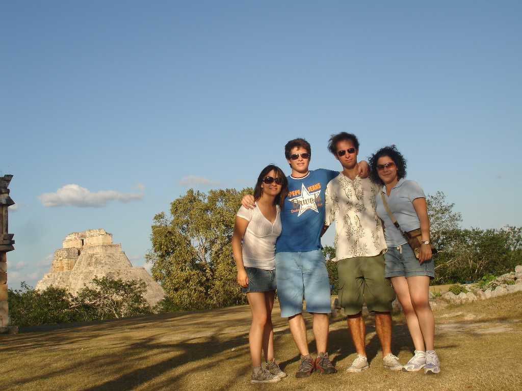 Lucia, ich, Thomas und Ivonne