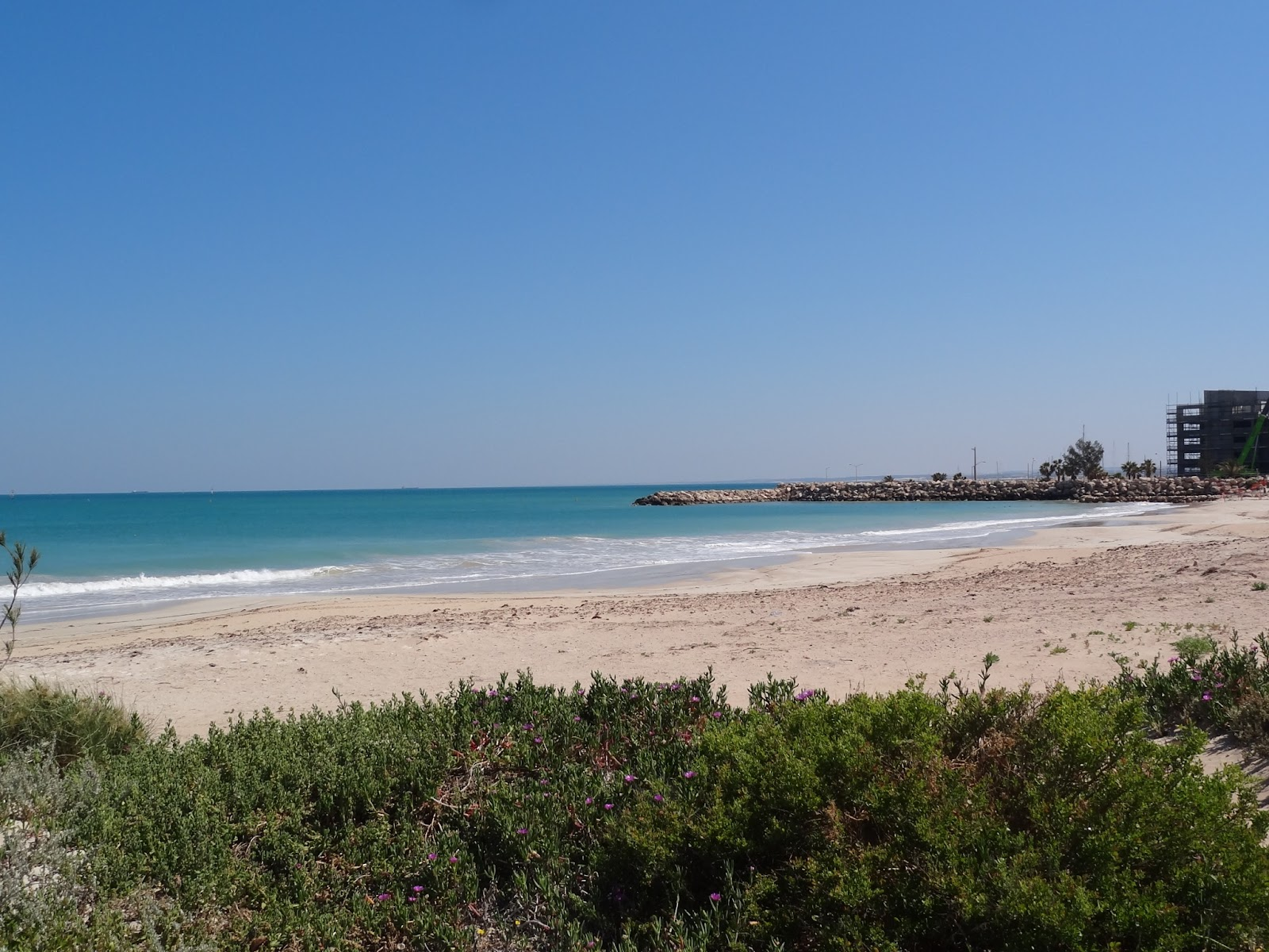 The beach at Geraldton