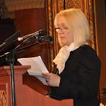 A Tamási Áron díjban részesült Járfás Ágnes műfordító laudációja