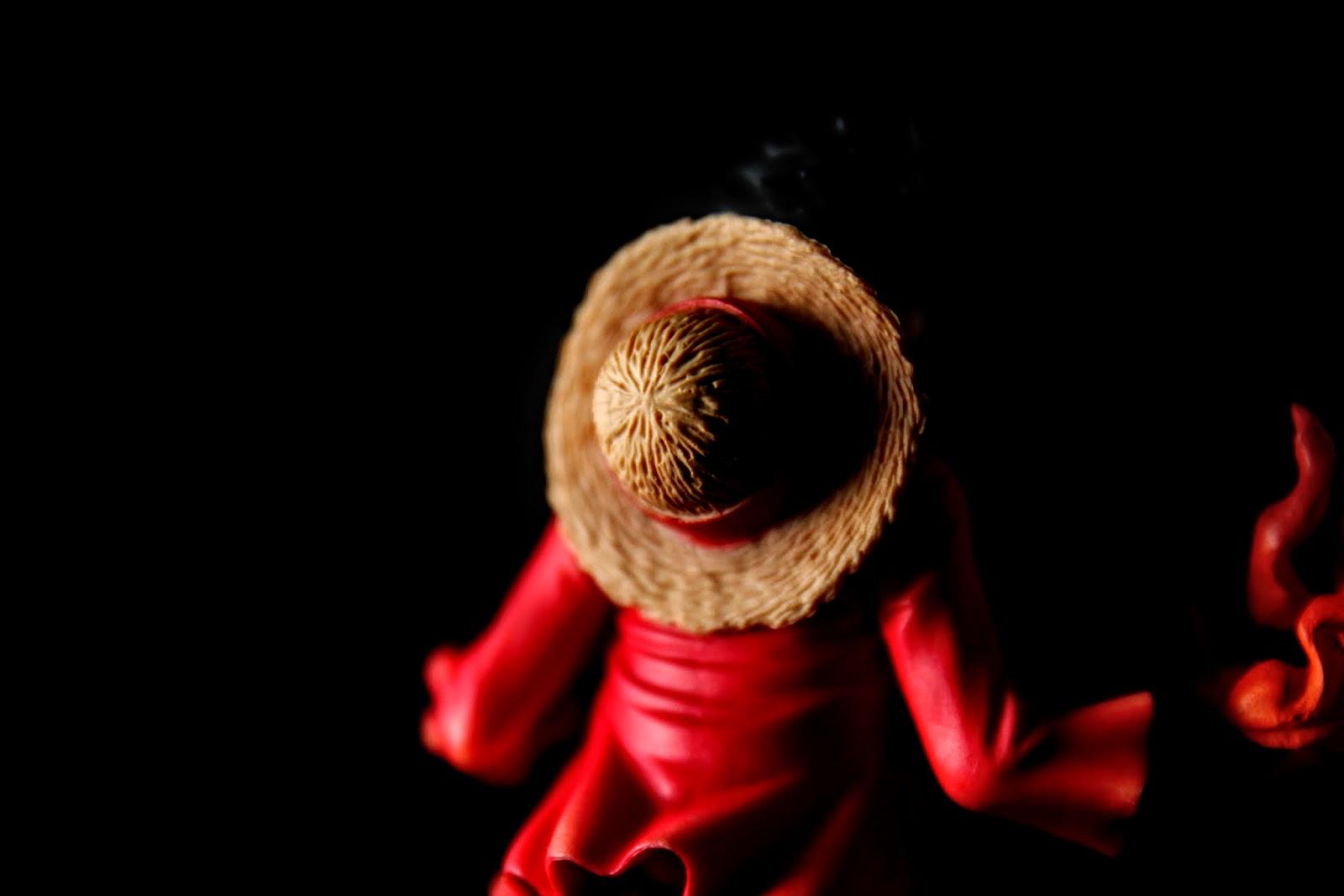 紅髮的草帽很有真實感