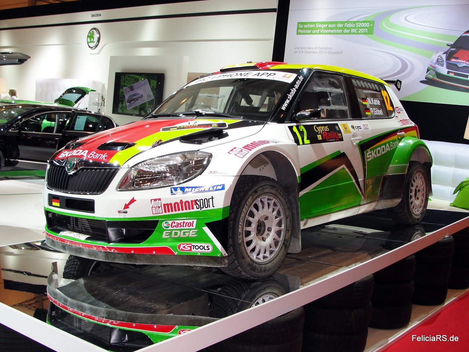 Fabia S2000 Matthias Kahle/ Peter Göbel