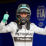 Nico Rosberg gets pole position