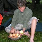 Starší - puťák: Příprava večeře