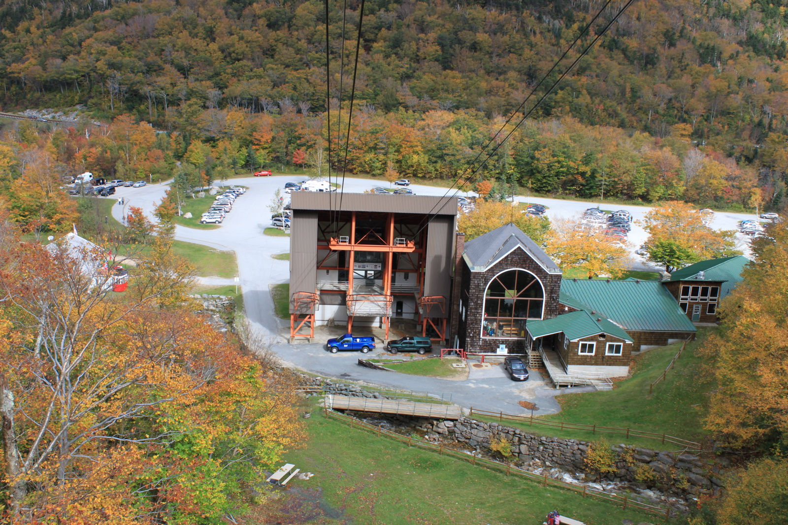 Cannon Mountain Aerial Tramway - White Mountains, New Hampshire