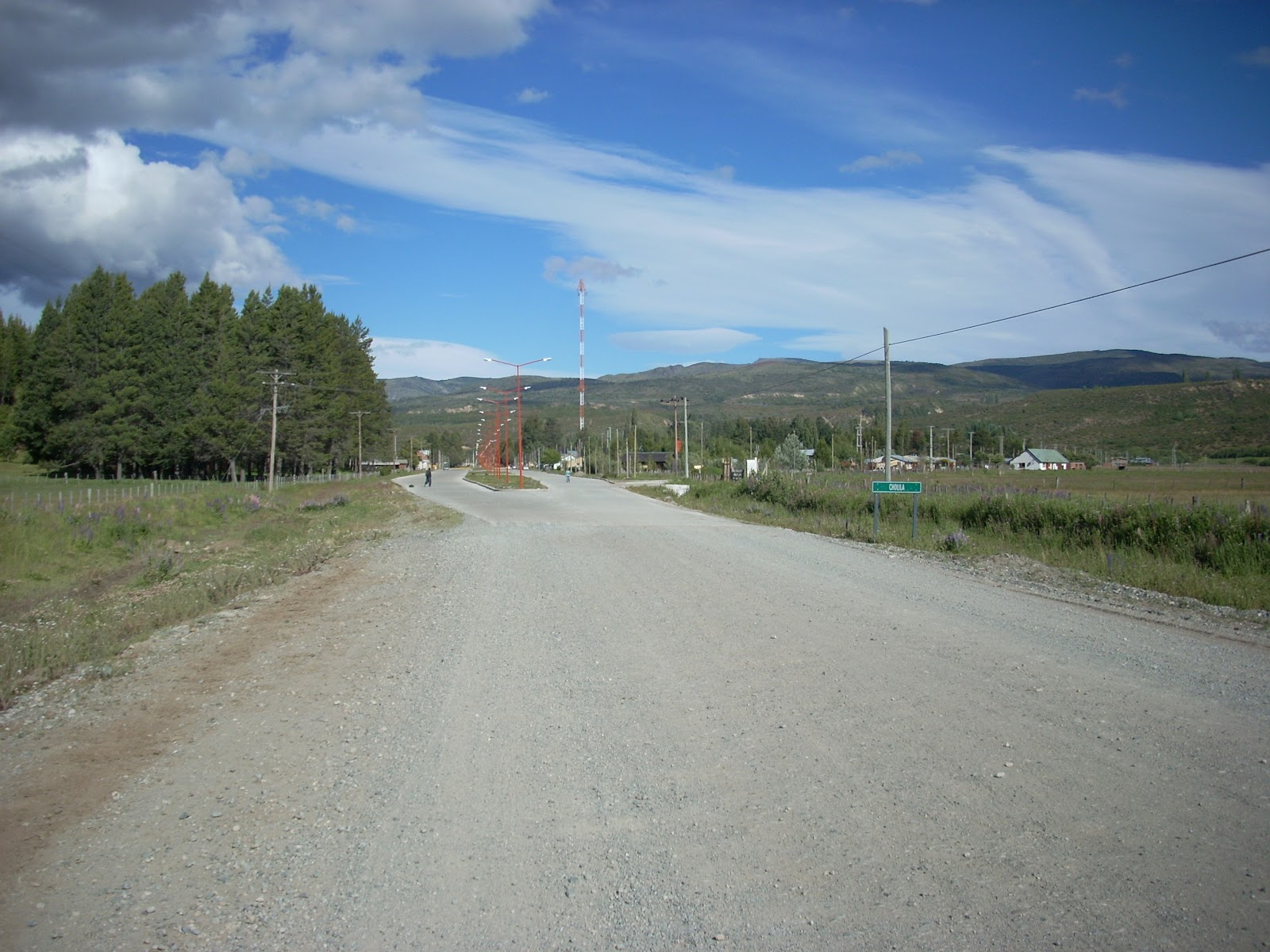 Not far from Butch Cassidys ranch, terrible road