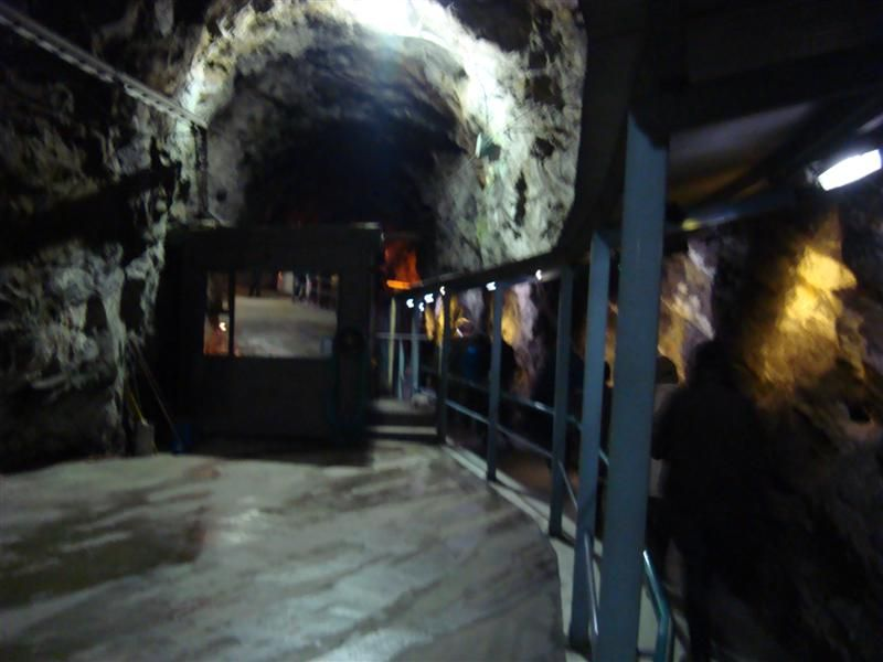 The entrance tunnel to the Manapouri Power Station