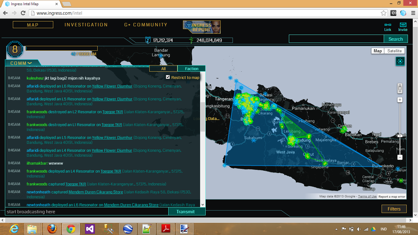 gurnadi & alfaridi cleared link between Bandung and Bekasi