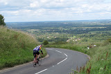 Descending from Ditchling Beacon