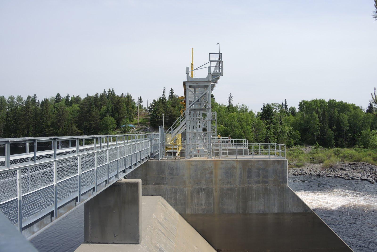 Un des mini barrages utiles pour les usines