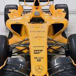 McLaren MP4-21 in orange color