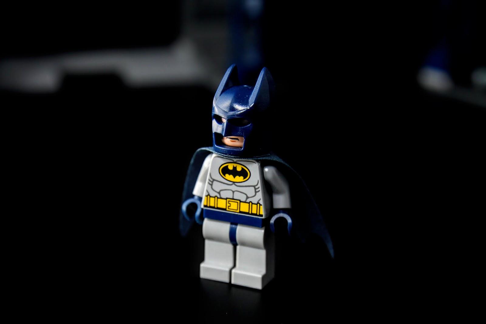 蝙蝠俠,配色是早期配色