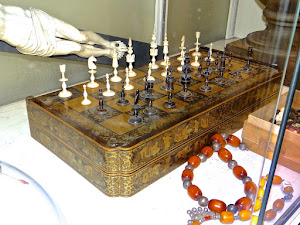Антикварные шахматы. ок.1900 г.