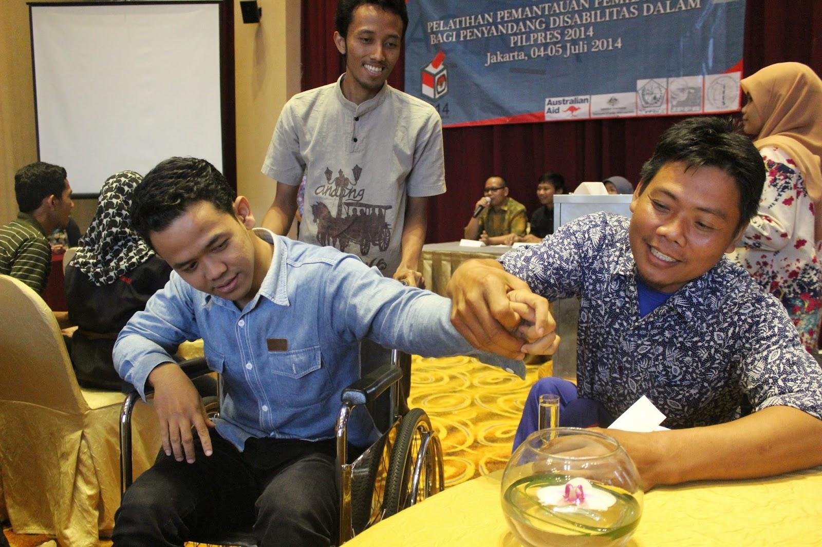 Election Simulation at Jakarta Observer Workshop on 4-5 July 2014 - 3