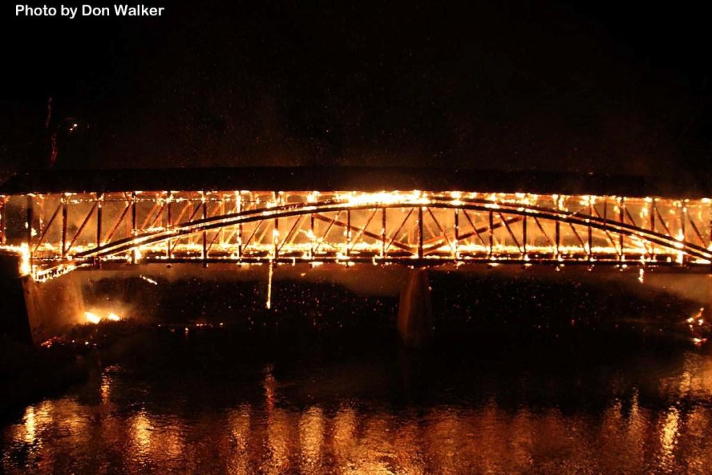 2014-11-03 Dellville Bridge Fire