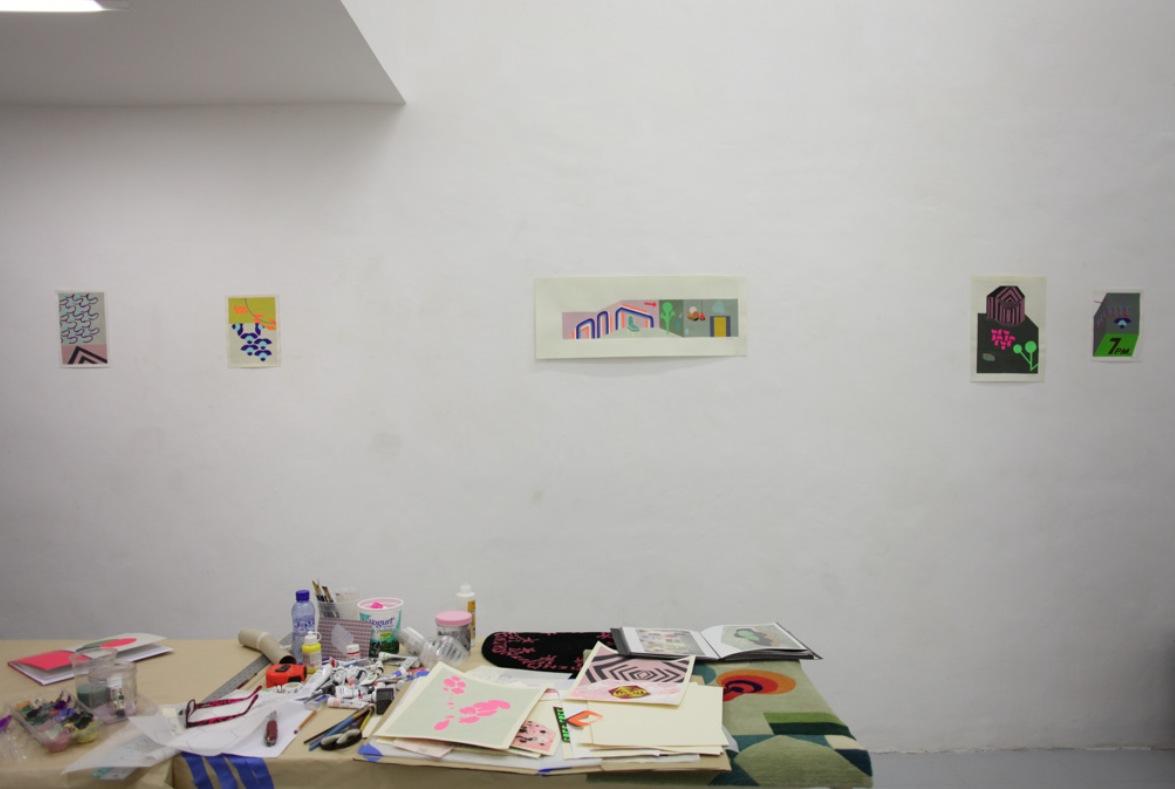 Michelle Weinberg: Open studio.