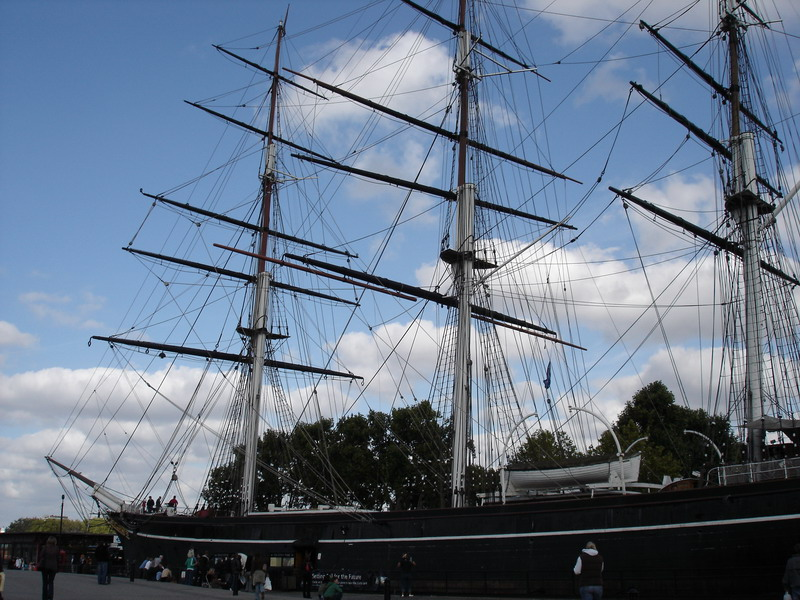 The Cutty Sark at Greenwich