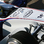 Nick Heidfeld shake down BMW Sauber F1.06