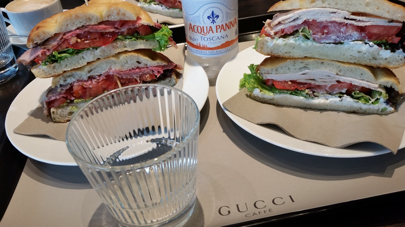 Lunch at Gucci Firenze