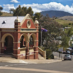 A small town in the mountains  where Red Hill was filmed