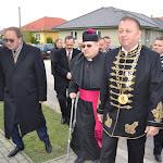 Ing.Bereck Oszkár polgármester, Bc.László Gábor polgármester, Mgr.Szalay Gyula esperes