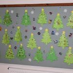Karácsonyi dekoráció a gyermekek alkotásaiból