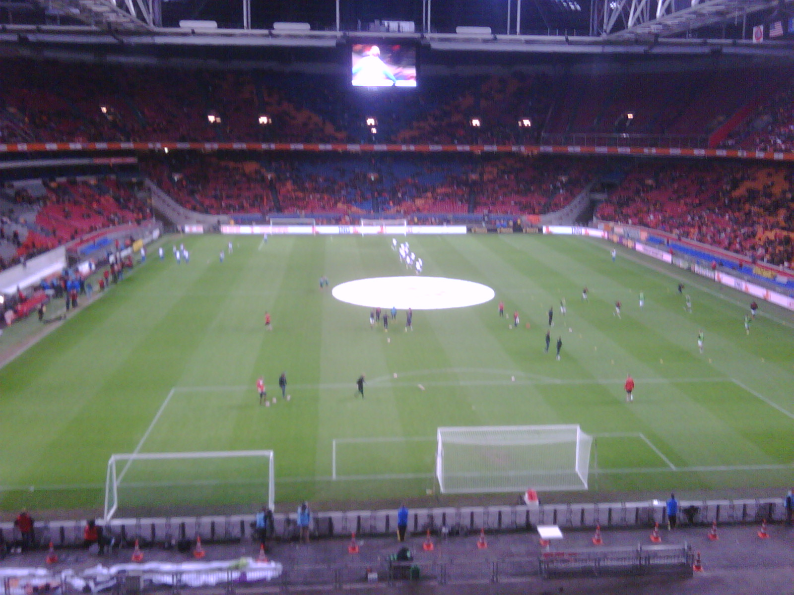 At Amsterdam Arena: NL - USA