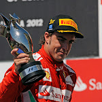 Fernando Alonso wins the 2012 European F1 GP in Valencia