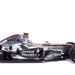 McLaren MP4-21 launch side