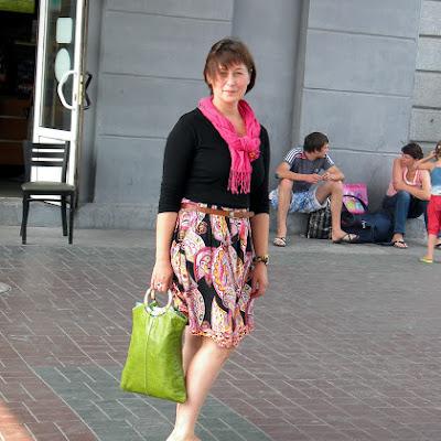 """Юлия Цугель, активист ННСКП """"Ассоциация Босоногих"""", на фестиваль отправилась босиком из дома..."""
