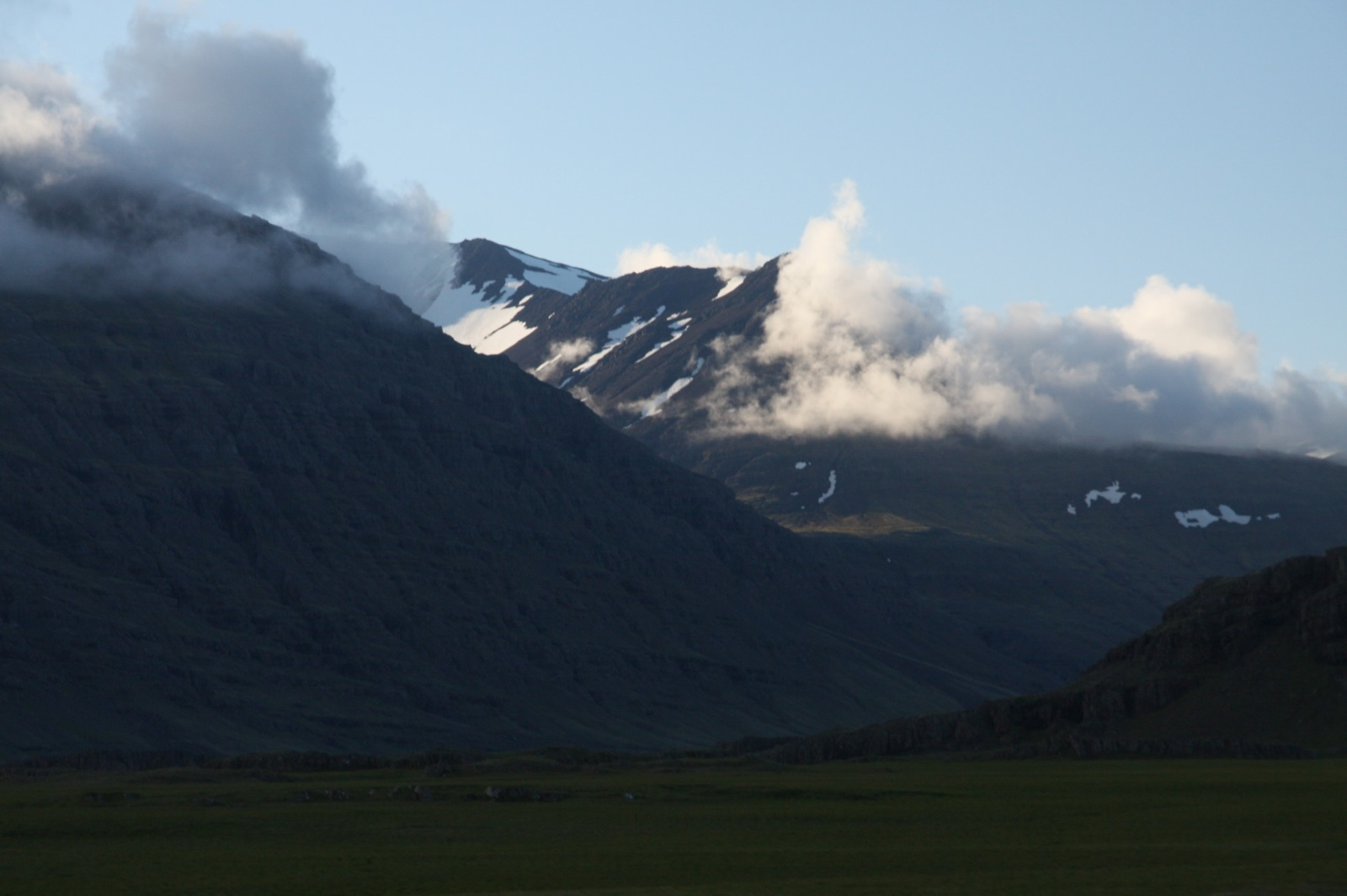 Feel the cold of the jökull