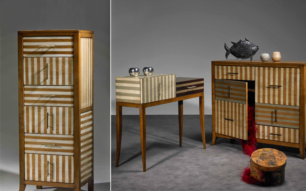 Bayonne collection stripe