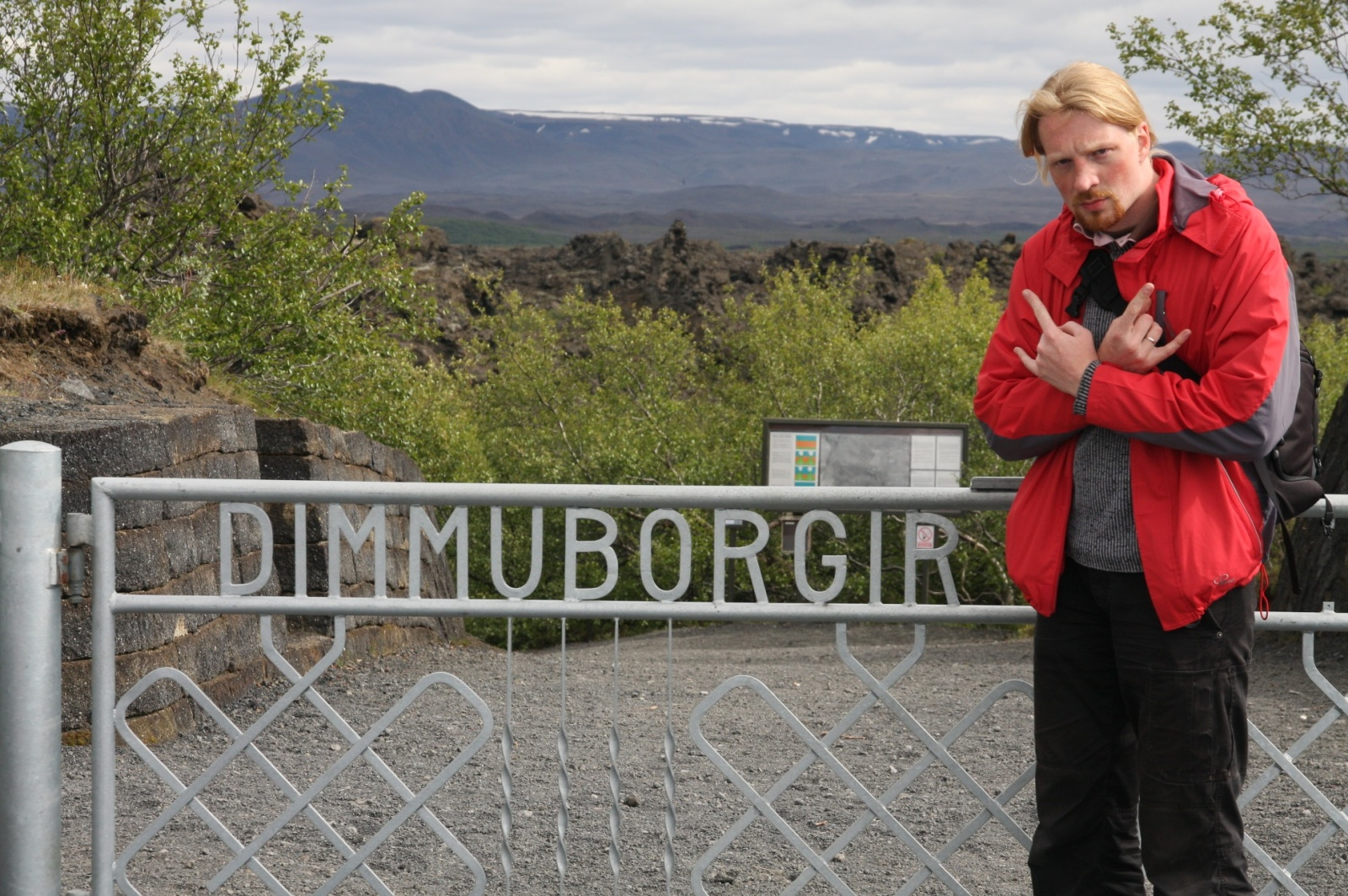 Feel the evilness of the place... like some Norwegians do :-)