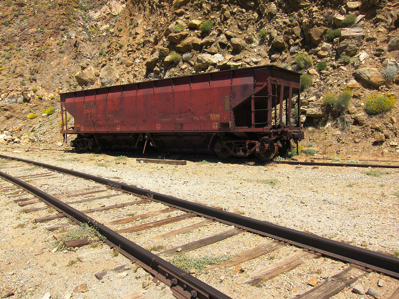 Old coal car?