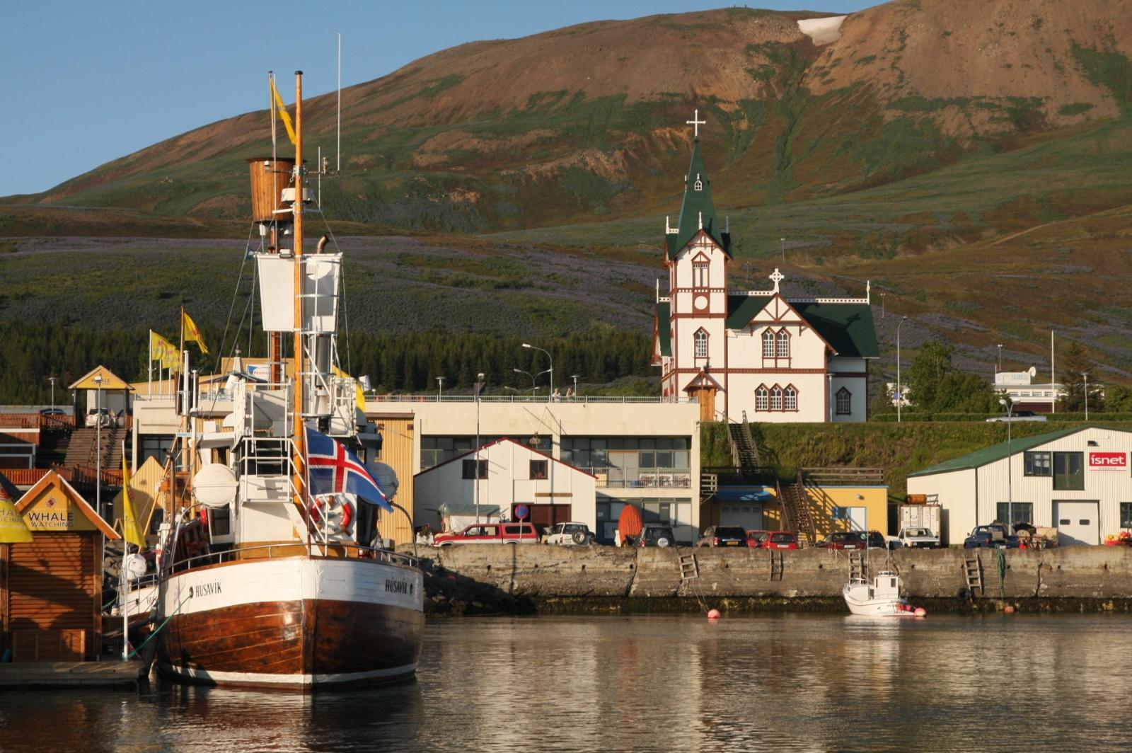 Husavik - the whale-watching capital