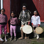 The only remaining traditional dancers