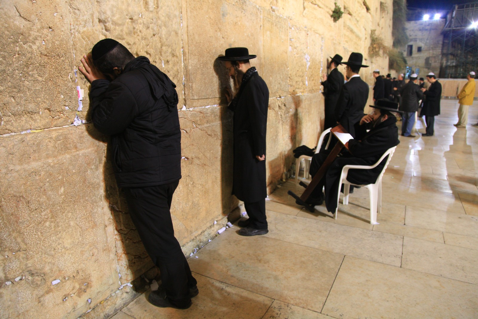 Some Jews travel remarkable distances from across the World for a honour to pray here