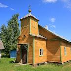 Currently functioning Old Believers' church in the Saare village (Ževaček)